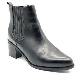 Blondo Elvina Waterproof Bootie Black Leather